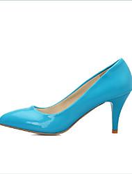 Women's Shoes PU Summer / Fall / Winter Heels Boots Party & Evening / Dress / Casual Kitten Heel Others Blue / Yellow
