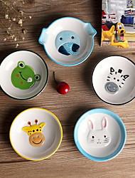 coelho dos desenhos animados prato sabor cor aleatória