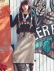 Aporia.As® Women's Tea-length Skirt-MZ02045