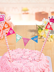 1 PC DIY Cake Toppers Party Birthday