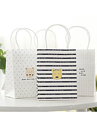 Korean Bear Gift Bag Shopping Bag Paper Bag 60g