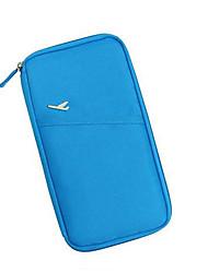 Blue multi-function receive bag bag passport wallet wallet bag package
