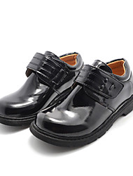 Unisex Flats Spring / Summer / Fall / Winter Comfort Leatherette Athletic / Casual Low Heel Magic Tape Black Others