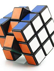 Shengshou® Glatte Geschwindigkeits-Würfel 3*3*3 Profi Level Druck-Helfer / Magische Würfel / Puzzle Spielzeug Schwarz / Weiß Plastik