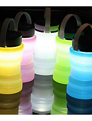 cor aleatória dobrar luz de vidro garrafas de deriva solares