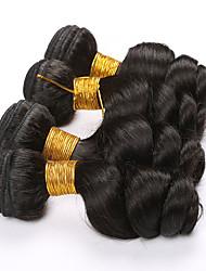 Brazilian Loose Wave 4pieces Brazilian Virgin Hair Loose Wave Human Hair Unprocessed Brazilian hair Weave Bundles