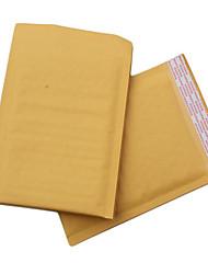 enveloppe déstockages bulle kraft sacs sacs sacs à bulles de bulle de bulle de papier kraft d'enveloppe jaune un paquet de dix