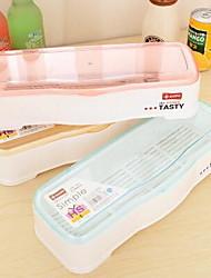 1 Cozinha Cozinha Plástico Prateleiras e Suportes 30*11*7cm