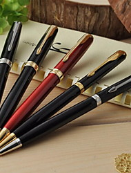 Metal Pen Shaft Ballpoint Multicolor Business Gift Pen (Random Color)