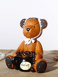 Cartoon Bear Piggy Bank for Home Decoration