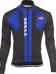 Sports Bike/Cycling Tops Men's Long Sleeve Breathable / Windproof / Soft / Held-In Sensation / Thermal / Warm LYCRA®