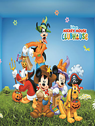 JAMMORY 3D Wallpaper For Home Contemporary Wall Covering Canvas Material Cartoon Mouse3XL(14'7''*9'2'')