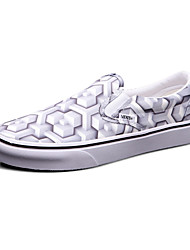 Vans Classics Slip On Women's Shoes Canvas Outdoor / Athletic / Casual Sneakers Grey