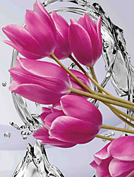 JAMMORY 3D Wallpaper For Home Contemporary Wall Covering Canvas Material Water Flowers3XL(14'7''*9'2'')