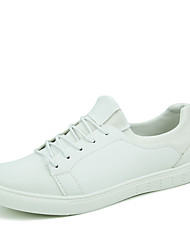 Autumn New Arrival Men's Classic White Breathable Skateboarding Shoes for Students With Casual Style