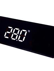 instrumento de medição de temperatura tela de toque digital para temperatura de carro incorporado