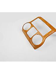 os interiores Jeep Wrangler / / couro / Painel de Controle / carro / alteração / peças colar embutidos