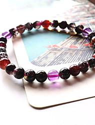 Bracelet Bracelets de rive Cristal Forme de Cercle Mode Bijoux Cadeau Violet,1pc
