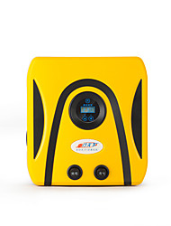 bomba eléctrica de inflado de neumáticos del automóvil presión preestablecida digital portátil vehículo 12v