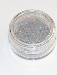 New! 1g Colorful Laser Mirror Powder Mermaid Rainbow Gradient Powder Glitter Chrome Pigment Nail Sequins Nail Art Tools