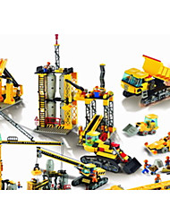 Smelting works building blocks assembled kit