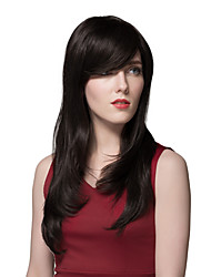 Fascinating Custom Vogue Wigs Black  Human Hair 24 Inches