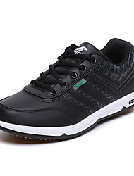 Men's Fashion Sneakers Casual/Travel/Outdoor Microfibre Leather Board Shoes