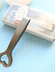 Beter Gifts® Recipient Gifts - 1Piece/Set Stainless-Steel Sweetheart Sugar Tongs Wedding Favors