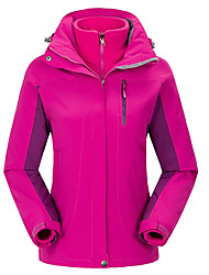 GQY® Ski Wear Ski/Snowboard Jackets Women's Winter Wear Polyester Solid Winter Clothing Thermal / Warm / Windproof / WearableCamping /