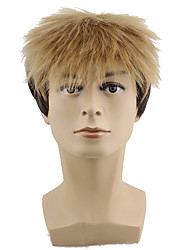 Synthetic Short Straight Man'S Wigs Cosplay Wigs