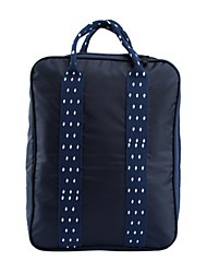 Unisex Travel Bag Storage Bag Oxford Cloth Casual Outdoor Navy Blue Light gray