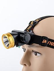 Lanternas de Cabeça LED - Ciclismo Fácil de Transportar 18650.0 180 Lumens USBCampismo / Escursão / Espeleologismo / Uso Diário /