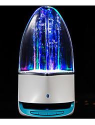 lumières de l'eau bluetooth stéréo lumineux, carte audio mini véhicule sans fil