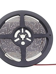 SENCART 5 M 600 3528 SMD Blanc chaud / Blanc Etanche / Découpable / Connectible / Pour Véhicules / Auto-Adhésives WBandes Lumineuses LED