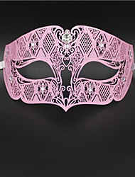 Diamond Design Laser Cut Venetian Masquerade Mask3007B1