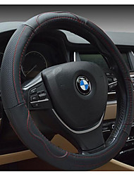 Automotive Leather Steering Wheel Cover Environmental Non-Toxic And Non-Irritating Odor Breathable Slip