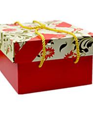 couleur rouge, d'autres emballages de matériel& cadeau d'expédition boîte un paquet de deux