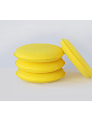 Standard Steam Car Wash Sponge Tool Wax, Wax Small Round Sponges, Cleaning Sponges