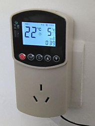 Digital Electronic Temperature Meter (Measurement Range:-10~110℃;Plug-in AC - 220V)