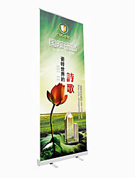 Export Quality Thick Aluminum Alloy Side Cover Roll 60X160Cm Advertising Design Custom Display Screen