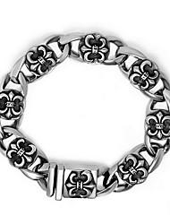 Bracelet Chaînes & Bracelets / Bracelets d'identification Acier au titane Forme de Croix / Others Style Punk / PersonnalitéQuotidien /