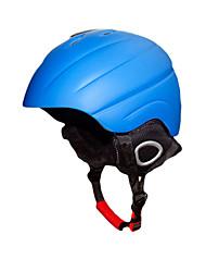 Универсальные шлем Л: 58-61CM Спортивные Ультралегкий (UL) Фиксированный 14 CE EN 1077 Снежные виды спорта / Лыжи Белый / Синий