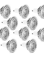 10W GU10 LED Spotlight MR16 1 COB 810LM lm Warm White / Cool White Dimmable / Decorative AC 220/ AC 110 V 10 pcs