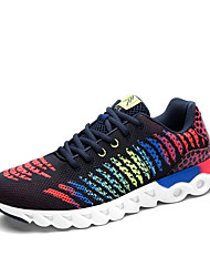 Unisex Sneakers Spring / Fall Comfort PU Casual Flat Heel Black / Blue / Red / Royal Blue Walking