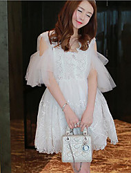 Women's Going out / Casual/Daily Simple / Cute A Line / Chiffon Dress