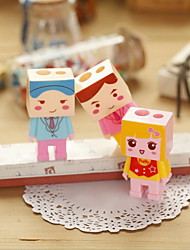 Cartoon Cute Little DIY Assembly Pencil Sharpener (Random Style)