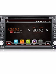 4 Cores 2 Din 6.2''Android 4.4 Car DVD Player GPS Navi Car Stereo Radio in Dash 3G Wifi BT Universal Player