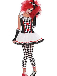 Costumes Burlesque Costumes / Uniforms / Zombie / Vampires Halloween / Christmas / Carnival Red / White / Black