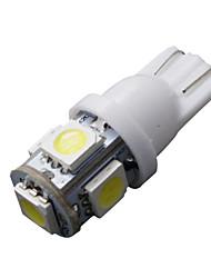 20x T10 5050 клин 5-SMD супер белый лицензия 6000k пластина свет в салоне 168 194