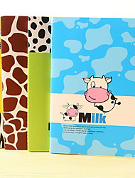 16K Large Lovely Notebook B5 Animal Patterns Series Journal (Random Colors)